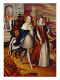 Portrait of Ferdinand I Giclee Print by Frans Pourbus II