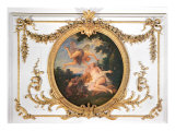 Zephyr and Flora, from the Salle de Conseil Giclee Print by Jean Francois de Troy