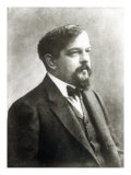 Claude Debussy, c.1908 Giclee Print by Paul Nadar