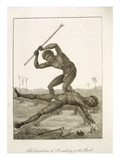 Execution from 'Narrative of Five Years' Expedition against the Revolted Negroes of Surinam' Giclee Print by John Gabriel Stedman