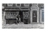 Colourman's Shop, St. Martin's Lane, London, 1829 Giclee Print by George The Elder Scharf
