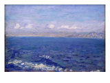 The Albanian Sea Giclee Print by Laurits Regner Tuxen