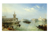 A View of Venice Giclee Print by Edward Pritchett