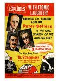 Dr. Strangelove, Australian Movie Poster, 1964 Giclée-Druck