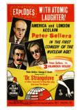 Dr. Strangelove, Australian Movie Poster, 1964 Premium Giclee Print