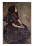 A Zeeland Girl, 1904 Giclee Print by Nico Jungman