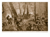 French and Germans at Close Quarters in the Forest of Argonne, 1914-19 Giclee Print by Felix Schwormstadt