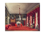 The Queen's Breakfast Room, Buckingham House, engraved by Daniel Havell Giclee Print by William Henry Pyne