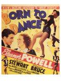Born to Dance , 1936 Giclée-tryk