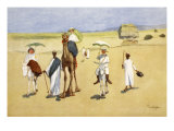 Round the Pyramids, from 'The Light Side of Egypt', 1908 Giclee Print by Lance Thackeray