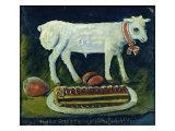 A Paschal Lamb, 1914 Giclee Print by Niko Pirosmani