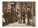 Italian Street Musicians, from 'Street Life in London', 1877-78 Reproduction procédé giclée par John Thomson