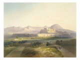 Town and Citadel of Ghuznee, engraved by W.L. Walton, 1848 Giclee Print by James Rattray