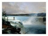 Niagara Falls, c.1837-40 Giclee Print by Jean Charles Joseph Remond