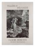 Frontispiece to 'Pelleas and Melisande', by Claude Debussy Giclee Print by Georges Marie Rochegrosse