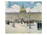 The Hotel des Invalides Giclee Print by Jean Francois Raffaelli