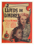 Lloyds of London, Spanish Movie Poster, 1936 Posters