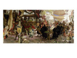 Baptismal Procession of Prince Juan in Seville Giclee Print by Francisco Pradilla Y Ortiz