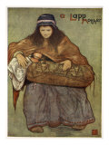 A Lapp Mother and Child, 1905 Giclee Print by Nico Jungman
