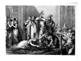 The Execution of Mary Queen of Scots Giclee Print by John Francis Rigaud