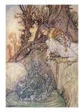 The Enchanted Goblet, c.1908 Gicleetryck av Arthur Rackham