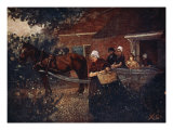 A Walcheren Milk-Cart, 1904 Giclee Print by Nico Jungman