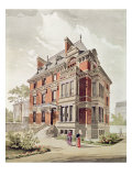 Project for a Villa, End of 19th Century Giclee Print by Henri Toussaint