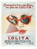Lolita, French Movie Poster, 1962 Giclee Print