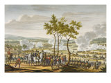 The Battle of Abensberg, 20 April 1809, engraved by Edme Bovinet Giclee Print by Jacques Francois Joseph Swebach