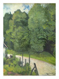 Road in the Forest, 1914 Giclee Print by Marie Clementine Valadon