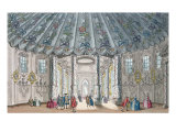 Interior View of the Elegant Music Room in Vauxhall Gardens, engraved by H. Roberts, 1752 Giclee Print by Samuel Wale