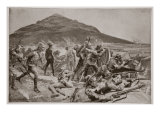 No Surrender! the Defence of Fort Itala on September 26, 1901 Giclee Print by Richard Caton Woodville