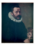 Self Portrait, 1591 Giclee Print by Frans Pourbus II