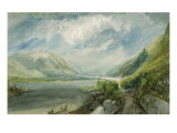 Junction of the Lahn, 1817 Giclee Print by Joseph Mallord William Turner