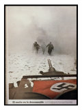 The Attack into the Unknown', German Troops Advancing on Stalingrad, from 'Signal' Giclee Print