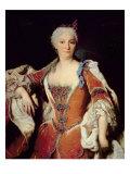 Portrait of Elizabeth Farnese Giclee Print by Jean Ranc