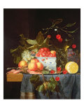 Still Life of Fruit Giclee Print by Pieter De Ring