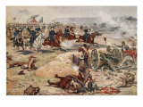 General Sheridan's Final Charge at Winchester, September 19th 1864 Giclee Print by Henry Alexander Ogden
