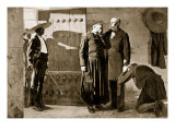 Emperor Maximilian Arrested by the Mexican Republicans and Condemned to Death Giclee Print by Jean Paul Laurens