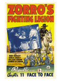 Zorro's Fighting Legion, 1939 Art