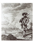 Captain Henry Morgan at the Sack of Panama in 1671, C.1734 Giclee Print by Thomas Nicholls