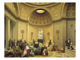 Mass in the Expiatory Chapel, 1830-48 Giclee Print by Lancelot Theodore Turpin de Crisse