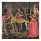 Pieta and Saints Giclee Print by Jacopo Del Sellaio