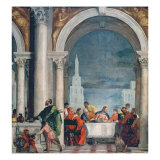Supper in the House of Levi, 1573 Giclee Print by Paolo Veronese