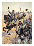 General Mcclelland at the Battle of Antietam,September 17th 1862 Giclee Print by Henry Alexander Ogden