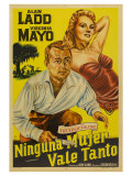 The Iron Mistress, Argentine Movie Poster, 1952 Prints