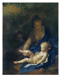 The Rest on the Flight into Egypt, 1706 Reproduction procédé giclée par Adriaan van der Werff