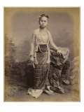 Young Burmese Girl, C.1875 Giclee Print by Philip Adolphe Klier