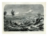 General View of Messina Giclee Print by Adolphe Rouergue