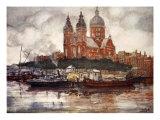 St. Nicholas' Church, Amsterdam, 1904 Giclee Print by Nico Jungman